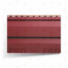 Сайдинг панель 3,66 м акрил Красный фото