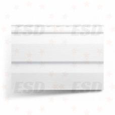 Сайдинг панель 3,66 м винил Белая фото