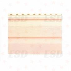 Сайдинг панель 3,66 м винил Розовая фото