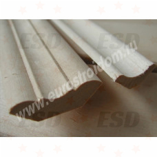 Плинтус деревянный б/с 45х3000мм (сосна, ель) фото