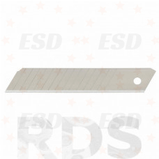 Лезвия сегментные, 18 х 108 мм, сталь HCS, толщина - 0,5 мм,