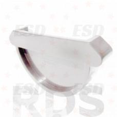 Murol ПВХ заглушка желоба универсальная Д=125 мм белый фото