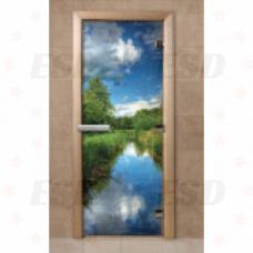 Дверь с фотопечатью F242 фото
