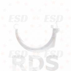 Murol ПВХ крюк желоба карнизный Д=125 мм белый фото