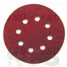 Круг абразивный D 125мм, зерно P60/№25, упак. 10шт.,