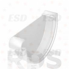 Galeco PVC 152/130 Заглушка желоба лев белый фото