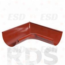 AS Угол желоба внутренний 90гр 90/125 RR 29 красно-коричневый фото