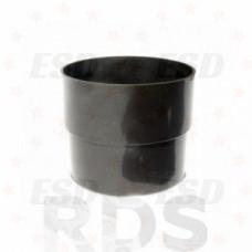 Murol ПВХ муфта соединения трубы Д=100 мм коричневый фото