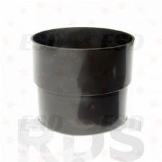 Murol ПВХ колено соединения трубы 67гр. Д=80 мм коричневое фото