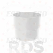 Murol ПВХ муфта соединения трубы Д=100 мм белый фото