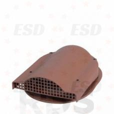 Wirplast К-19 Вентилятор подкр простр-ва с проходным эл-том  для кровли из ГЧ (готовой) коричн. фото