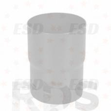 AS Соединитель трубы 100/150 RR 20 белый фото