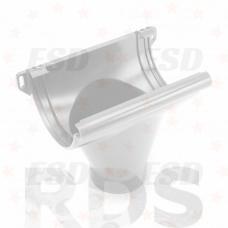 Galeco PVC 100мм Воронка для трубы белый фото