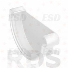 Galeco PVC 152/130 Заглушка желоба прав белый фото