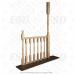 Балясина деревянная №2. 50х50х900мм. AA