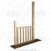 Балясина деревянная №6. 50х50х900мм. AA