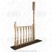 Балясина деревянная №7. 50х50х900мм. AA