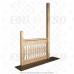 Балясина плоская деревянная №12. 18х90х900мм. AA