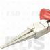 Круглоубцы, 160 мм, прямые, двухкомпонентные рукоятки, Nickel,