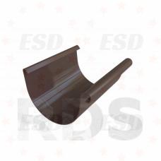 Murol ПВХ желоб 3000 мм Д=125 мм коричневый фото