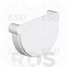 AS Заглушка желоба (с резиновым уплотнителем) 100/150 RR 20 белый фото