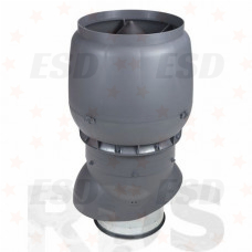 Vilpe Вент. выход  250/300/500 XL + колпак серый фото
