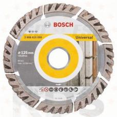 Диск отрезной, 125х2,0х22мм, алмазный, сегментный, по бетону, Standard for Universal,