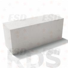 Блок газобетонный стеновой D500  625х200х250 В3,5 Калужский газобетон фото