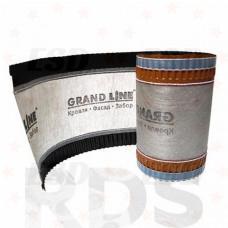 Аэроэлемент конька/хребта Grand Line, коричневый (5м) фото