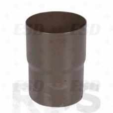 AS Соединитель трубы 100/150 RAL 8017 коричневый фото