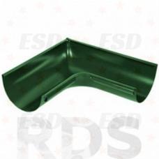 AS Угол желоба внутренний 90гр 90/125 RAL 6005 зеленый фото