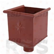 AS Воронка водосборная 90/125 RR 29 красно-коричневый фото