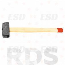 Кувалда, 4000 гр, кованая головка, деревянная рукоятка /10957 фото