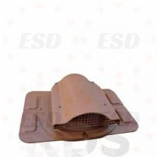 Wirplast К-20 Вентилятор подкровельного пространства с универсальным проходным элементом, коричн. фото