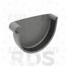 AS Заглушка желоба (с резиновым уплотнителем) 100/150 RR 23 серый фото