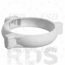Murol ПВХ хомут крепления трубы Д=100 мм белый фото