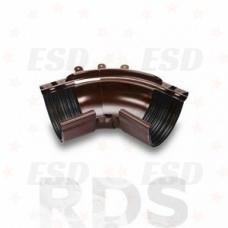 GALECO STAL 124/90 внешний угол 135 гр. RAL 8017 коричневый фото