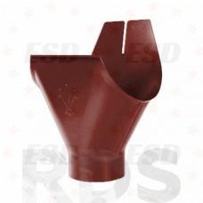 AS Воронка желоба 90/125 RR 29 красно-коричневый фото